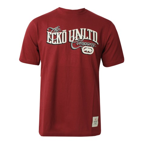 Ecko Unltd. - High & low script T-Shirt