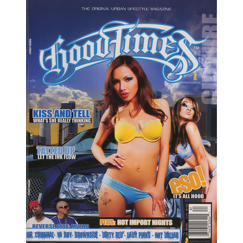 Hoodtimes Mag - Urban culture issue