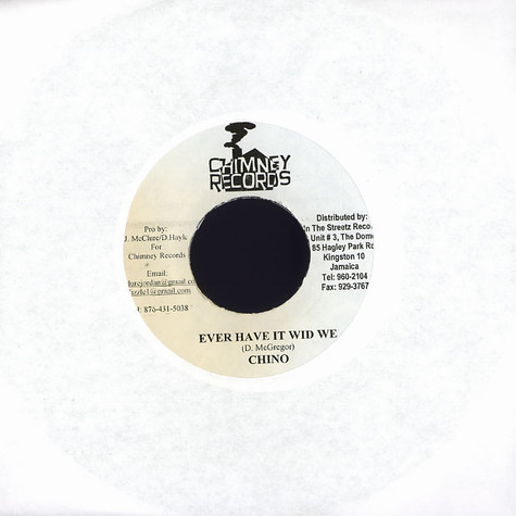 Chino / Einstein - Ever have it wid we / empty the magazine