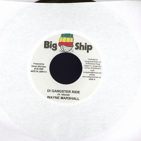 Wayne Marshall / Shema - Di gangster ride / all about me