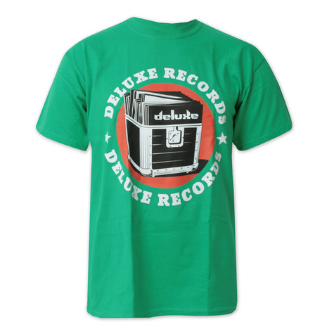 Deluxe Records - Green logo T-Shirt