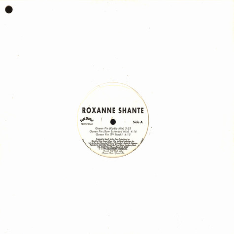 Roxanne Shante - Queen pin
