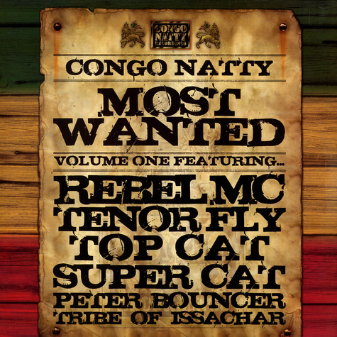 Congo Natty - Most wanted volume 1