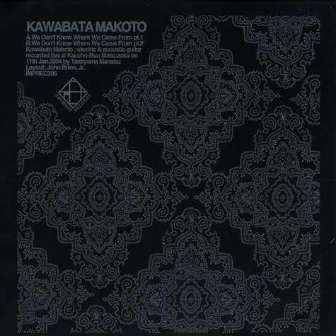 Kawabata Makoto - We don't know where we came from