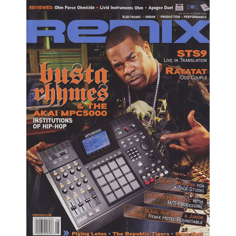 Remix Magazine - 2008 - 08 - August