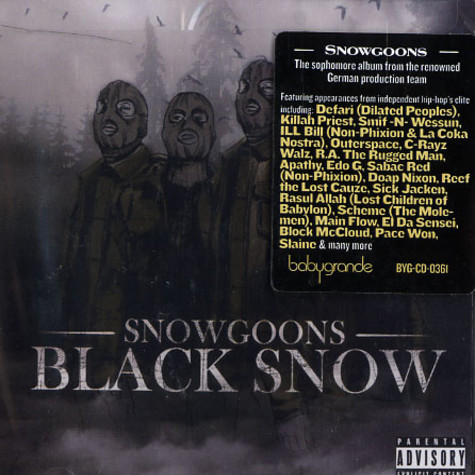 Snowgoons - Black Snow Volume 1