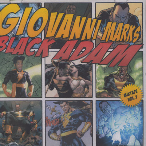 Subtitle as Giovanni Marks - Black Adam mixtape volume 1