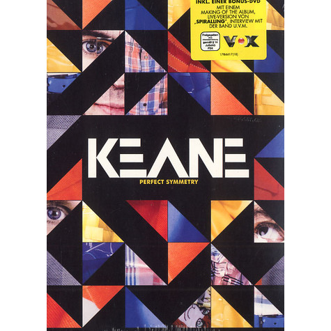 Keane - Perfect symmetry deluxe edition
