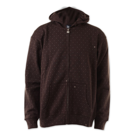 DC - Spotted zip-up hoodie