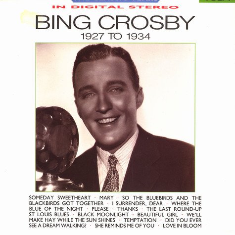 Bing Crosby - The classic years - 1927 to 1934