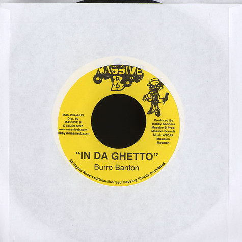 Burro Banton  - In da ghetto