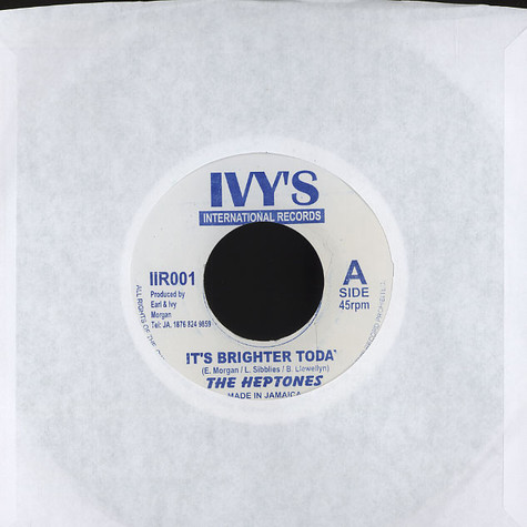 Heptones, The - It's brighter today
