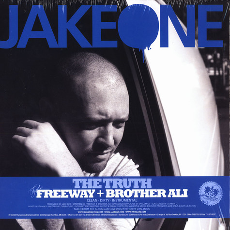 Jake One - The truth feat. Freeway & Brother Ali