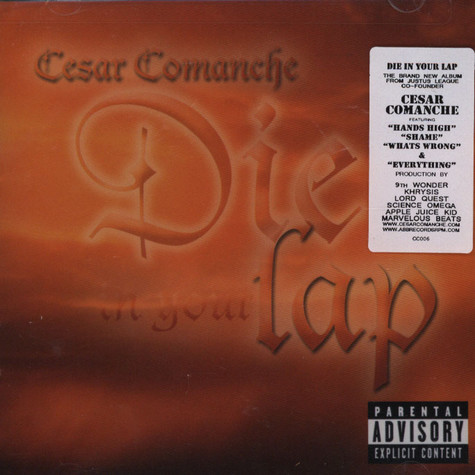 Cesar Comanche - Die In Your Lap