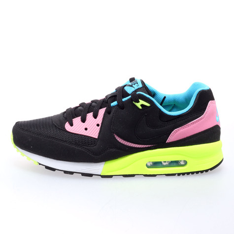 brand new c508c a44c0 Nike - Air Max light (Black / Black / Volt / Vivid Blue) | HHV