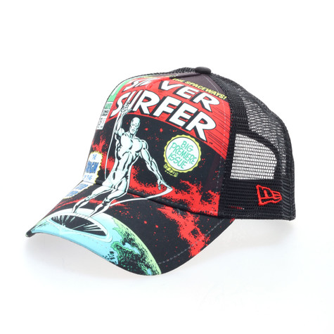 New Era x Marvel - Sentinel Silver Surfer trucker hat