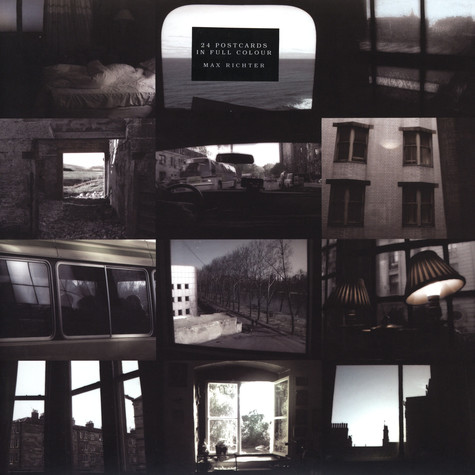 Max Richter - 24 postcards in full colour