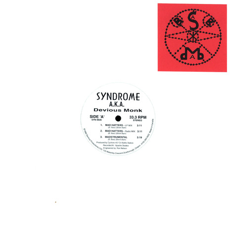 Syndrome aka Devious Monk - Mad hatters