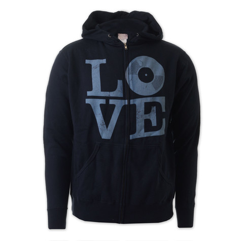 Ubiquity - Love zip-up hoodie