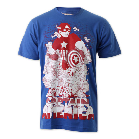 Wirr - Captain America T-Shirt