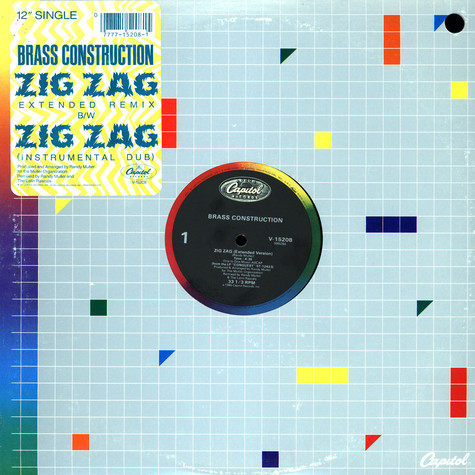 Brass Construction - Zig zag