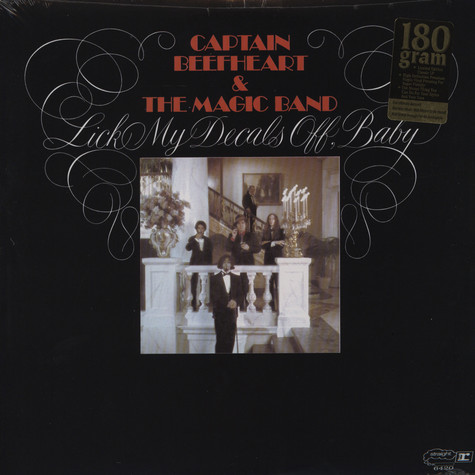 Captain Beefheart And The Magic Band - Lick my decals off, baby