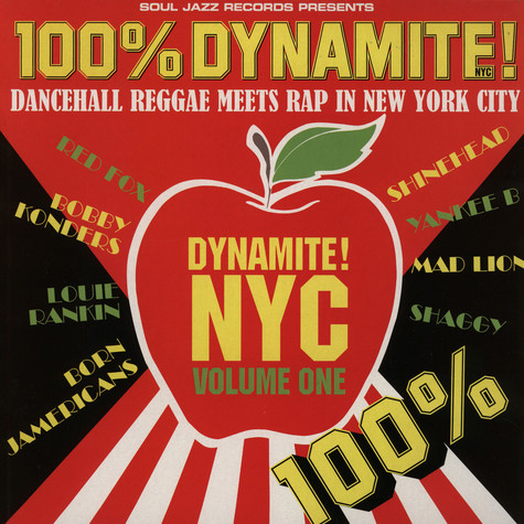 V.A. - 100% Dynamite! - Dancehall Reggae Meets Rap In NYC Volume 1