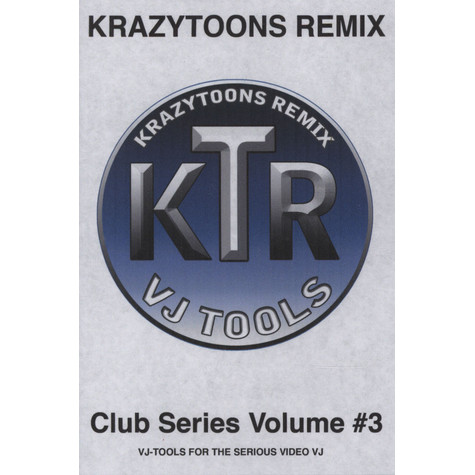 Krazytoons Remix - VJ tools club series volume 3