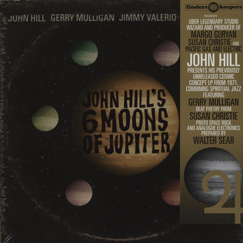 John Hill - Six moons of Jupiter