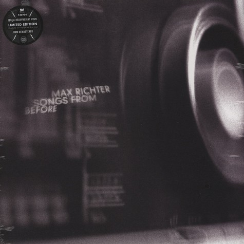 Max Richter - Songs From Before