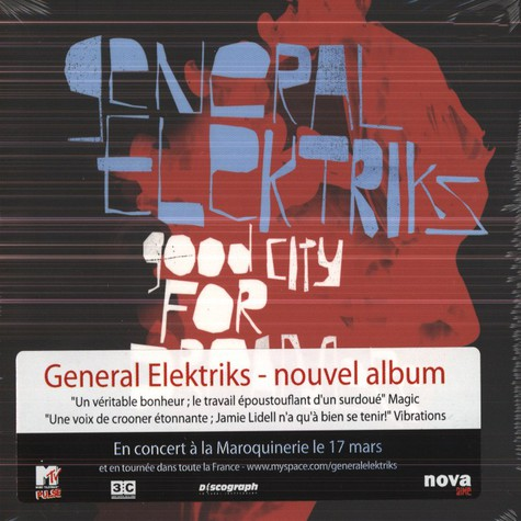 General Elektriks - Good City For Dreamers