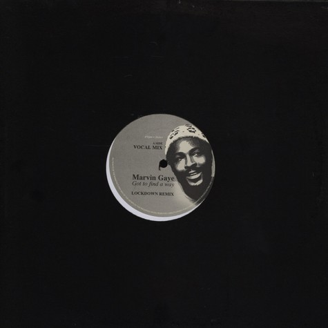 Marvin Gaye - Got to find a way dance remix EP