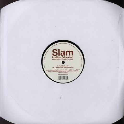 Slam - Positive Education Remixes