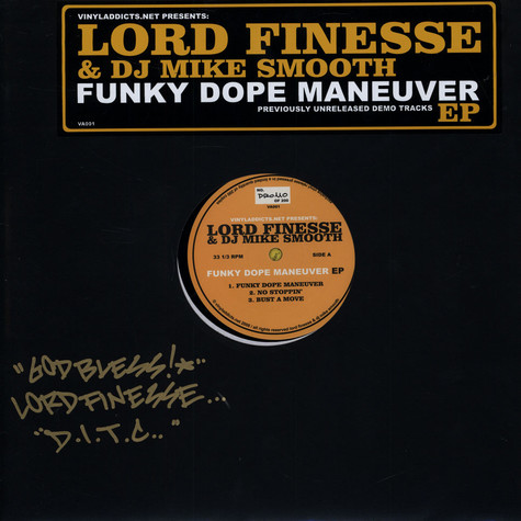 Lord Finesse & DJ Mike Smooth - Funky Dope Maneuver EP
