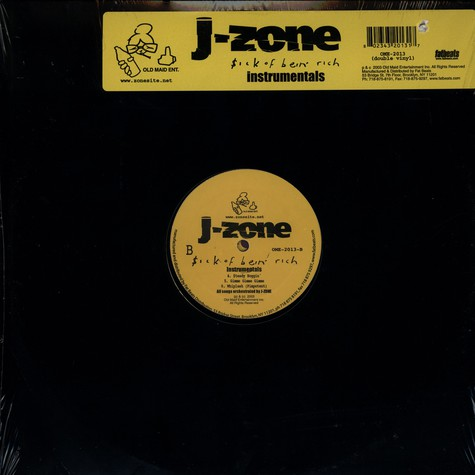 J-Zone - Sick of bein' rich instrumentals