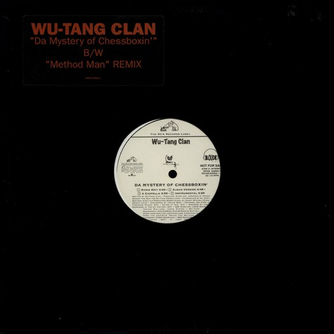 Wu-Tang Clan - Da Mystery Of Chessboxin'