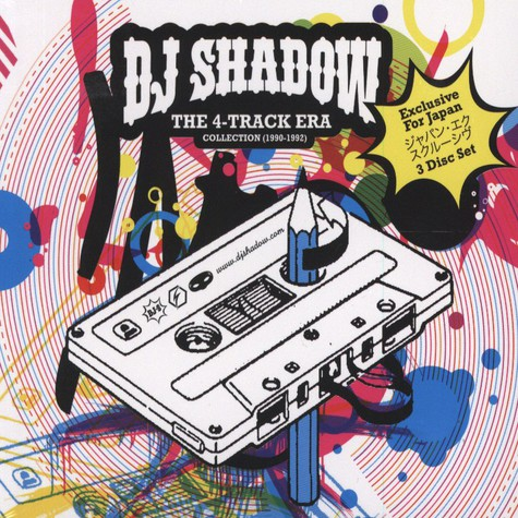 DJ Shadow - The 4-Track Era Collection