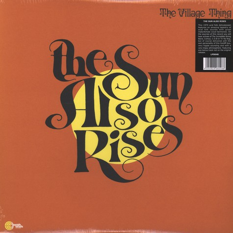 Village Thing, The - The Sun Also Rises