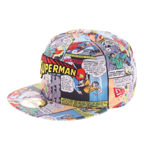 New Era x DC Comics - Superman Comic Cap