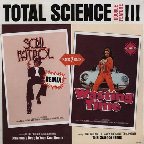 Total Science - Wasting time feat. Phonte & Brockington