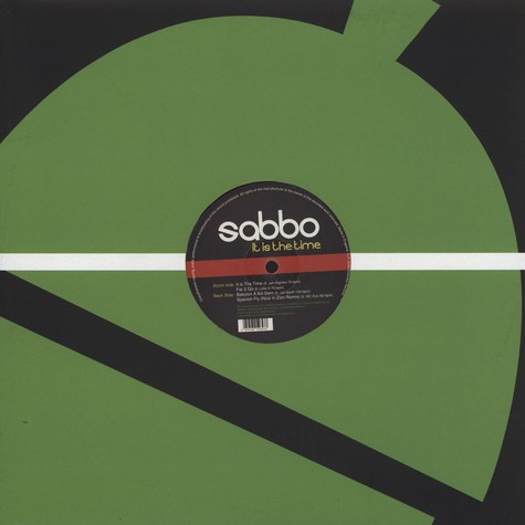 Sabbo - It Is The Time EP