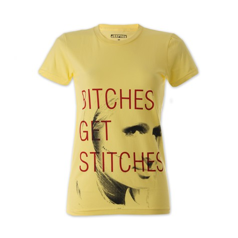 Jeepney - Bitches Get Stitches Women T-Shirt