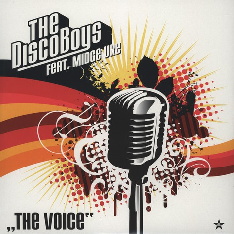 Disco Boys, The - The Voice feat. Mitch Ure
