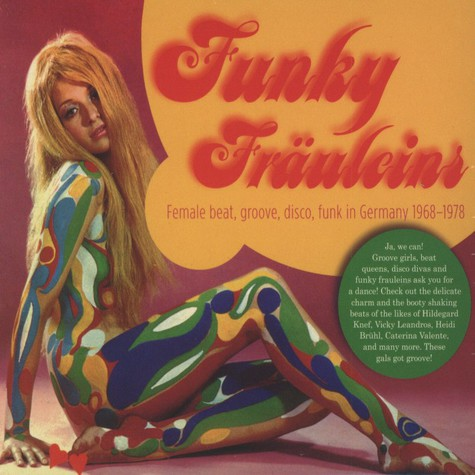 Funky Fräuleins - Volume 1: Female Beat, Groove, Disco, Funk in Germany 1968-1978