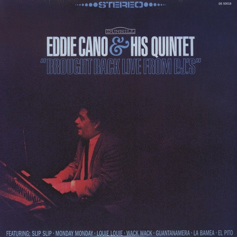 Eddie Cano  & His Quintetcano - Brought Back Live From P.J.'s