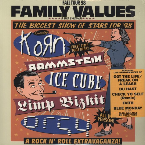 V.A. - Family Values Fall Tour Fall 1998