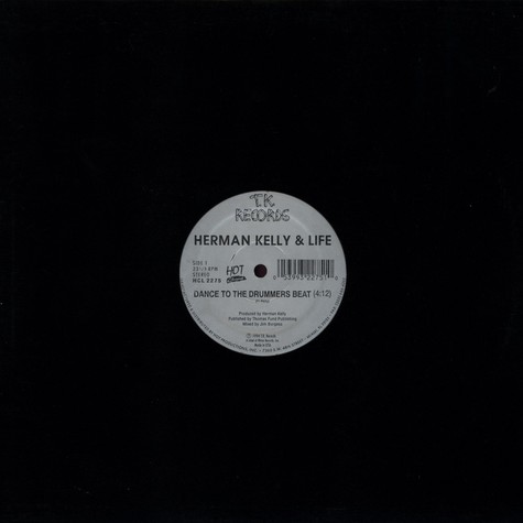 Herman Kelly & Life / Johnny Harris - Dance to the drummers beat / odyssey