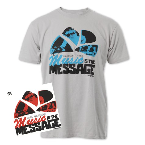 101 Apparel x Kon & Amir - Music Is The Message T-Shirt