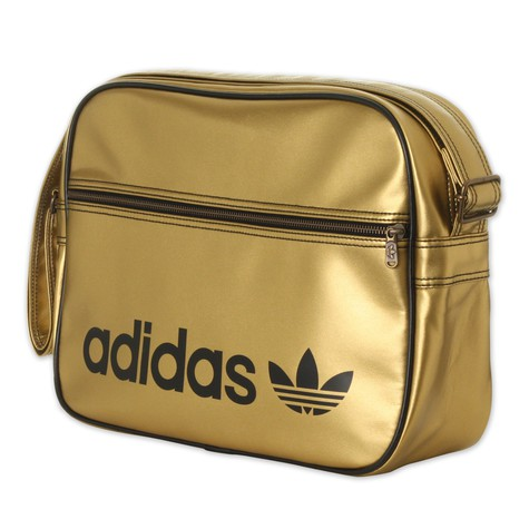 c779182662 adidas - Adicolor Airliner Bag (Metal Gold   Black)