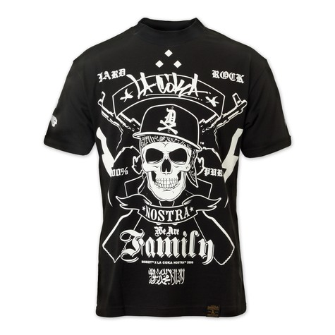 Dissizit! & La Coka Nostra - We Are Family T-Shirt